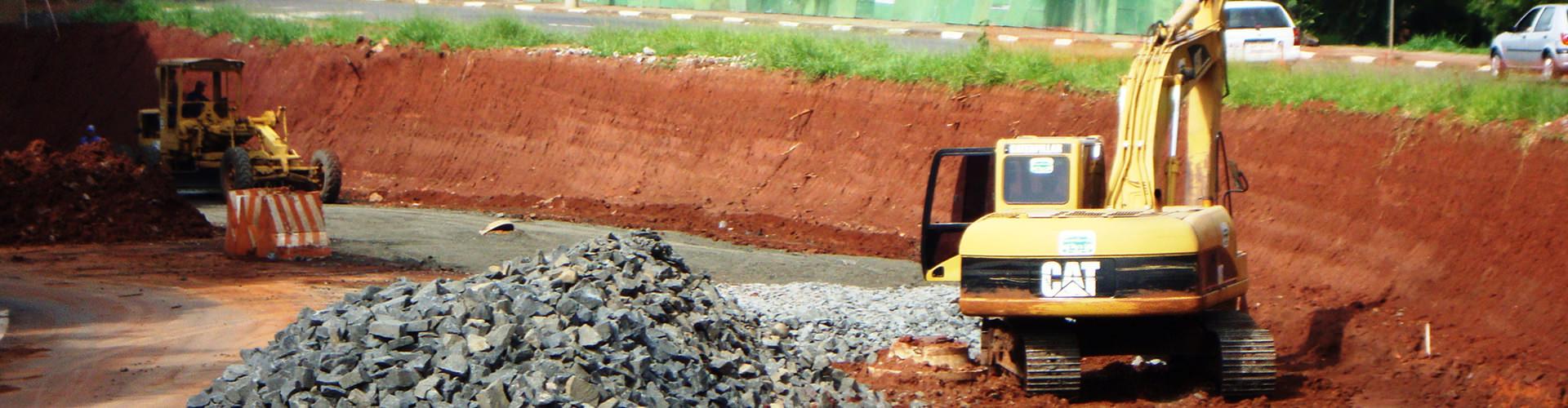 Pavimentação Viaduto